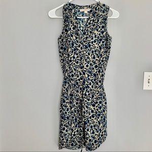 Loft Floral Printed Dress with belt